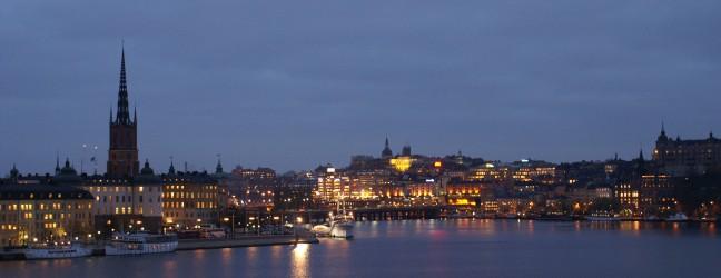 Riddarholmen och söder i Stockholm Foto: Michael Silkesjöö ©