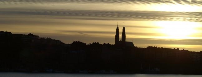 Högalid från Stadshuset i Stockholm Foto: Michael Silkesjöö ©